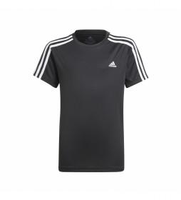 Camiseta Boy 3 Rayas T negro