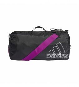 Bolsa de deporte Canvas Sports negro -50x27x26cm-