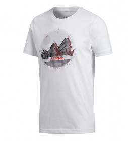 adidas Terrex T-shirt with photo ID white