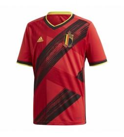 Camiseta Primera Equipación Bélgica rojo