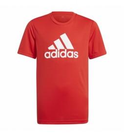 CamisetaDesigned To Move Big Logo rojo