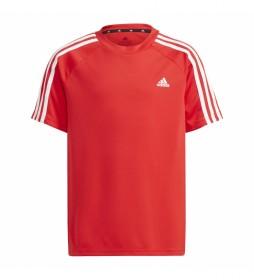 Camiseta adidas Sereno Aeroready rojo