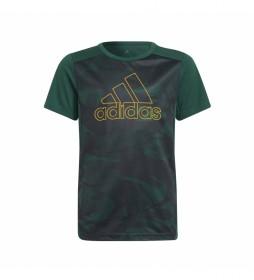 Camiseta Designed to Move Graphic verde