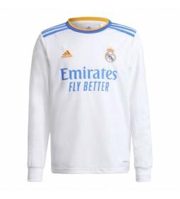 Camiseta primera equipación Real Madrid 21/22 blanco