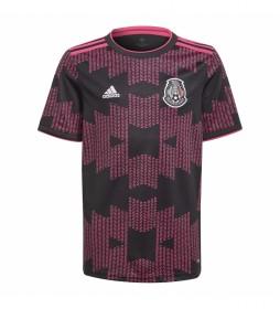 Camiseta primera equipación México negro