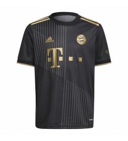 Camiseta segunda equipación FC Bayern 21/22 negro