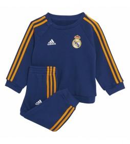 Chándal Baby Real Madrid 21/22 3 bandas