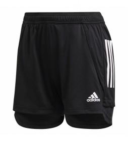 Pantalón corto Con20 TR SHO W negro