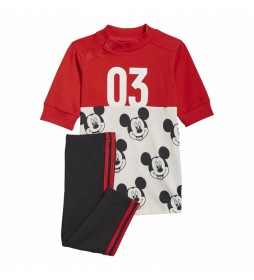 Conjunto Verano Disney Mickey Mouse rojo negro