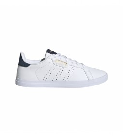Zapatillas de piel Courtpoint Base blanco