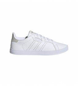 Zapatillas de piel Courtpoint Base Shoes blanco