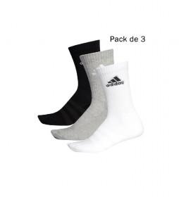Pck de 3 Calcetines Cushioned gris, blanco, negro