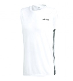 Camiseta Design 2 move 3 bandas blanco