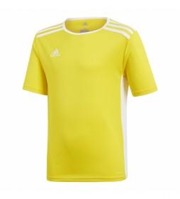 Camiseta Entrada  18 JSYY amarillo