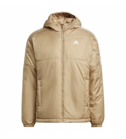Chaqueta Essentials Insulated Hooded beige