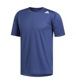 Camiseta FreeLift Sport Fitted 3 Rayas azul