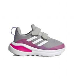 Zapatillas FortaRun gris, rosa