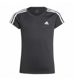 Camiseta Designed 2 Move 3 Rayas negro