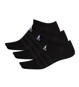 Pack de 3 calcetines Light Low negro