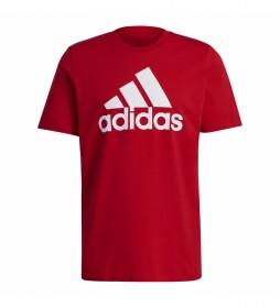 Camiseta Essentials Big Logo rojo