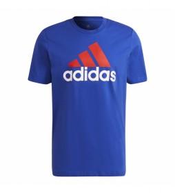 Camiseta Essentials Big Logo azul