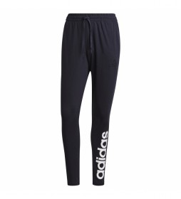 Pantalón Essentials Tapered Elastic Cuff Linear marino