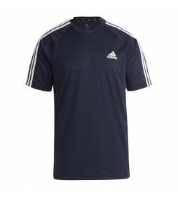 Camiseta Sereno 3 Rayas marino