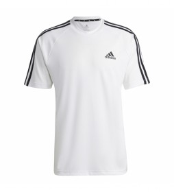 Camiseta Sereno 3 Rayas blanco