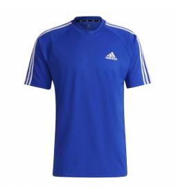 Camiseta Sereno 3 Rayas azul
