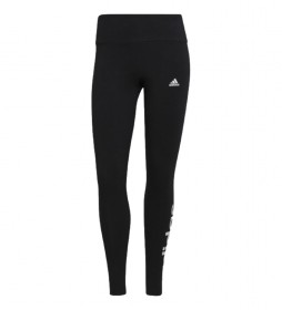 Mallas Loungewear Essentials High-Waisted Logo negro