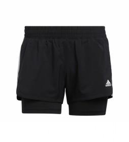 Pantalón PACER 3S 2 IN 1 negro