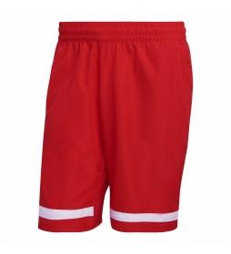 Shorts Tennis Club rojo