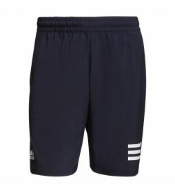 Shorts Club Tennis 3 bandas marino