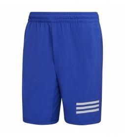 Shorts Club Tennis 3 bandas azul