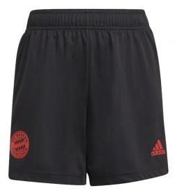 Shorts entrenamiento FC Bayern negro
