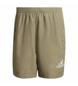 Shorts Essentials Logo Woven beige