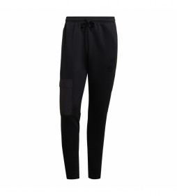 Pantalón Essentials Fleece negro