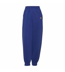 Pantalón Essentials Warm Golden Logo azul