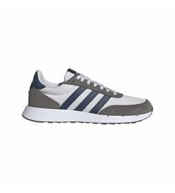 Zapatillas de piel Run 60s 2.0 blanco, gris