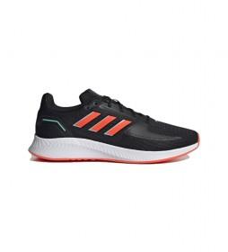 Zapatillas Runfalcon 2.0 negro, rojo
