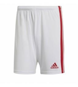 Pantalón corto Squad 21 blanco, rojo