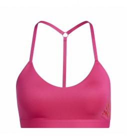 Sujetador deportivo All Me Light Support Training rosa