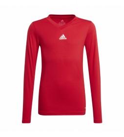 Camiseta Team Base Tee Y rojo