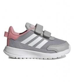 Zapatillas Tensaur Run I gris, rosa