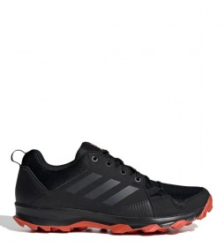 adidas Terrex Terrex Tracerocker trail running shoes black, orange / 290g