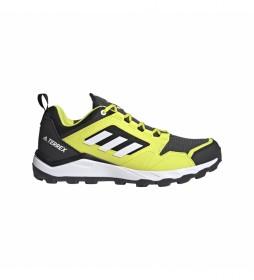 adidas Terrex Zapatillas Trail Agravic TR gris, amarillo