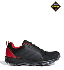 adidas Terrex TERREX Tracerocker GTX trail running shoes black, red / Gore-Tex / 270g