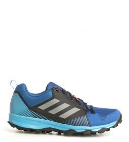 adidas Terrex TERREX Tracerocker blue trail running shoes, black / 270g