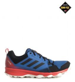 adidas Terrex Zapatillas de trail running TERREX Tracerocker GTX azul, rojo / Gore-Tex / 270g