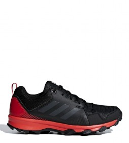 adidas Terrex TERREX Tracerocker trail running shoes black, red / 290g